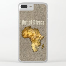 Out of Africa Clear iPhone Case