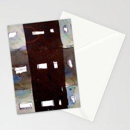12 matchsticks side by side Stationery Cards
