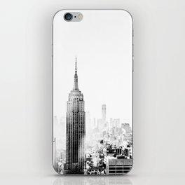 Steam - Fog over New York City iPhone Skin