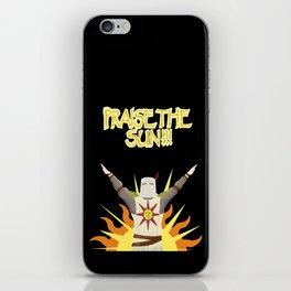 Praise the Sun! iPhone Skin