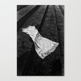 Silk And Stone Canvas Print