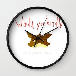 Crossover Starfox X Bioshock Wall Clock