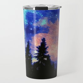 The Galaxy Above Us Travel Mug
