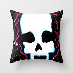 Ghost Demon Throw Pillow