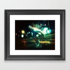 dead jump Framed Art Print