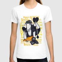 mia wallace T-shirts featuring Mia by J. Neto