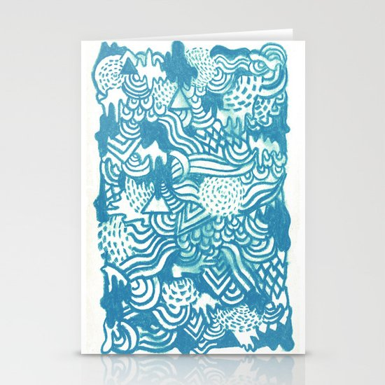 Don't Go Stationery Cards