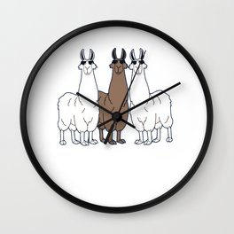 Como Se Llama? Funny Spanish Shirt What Is Your Name T Shirt Wall Clock