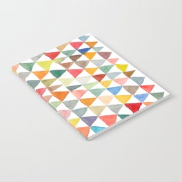 Triangle Tapestry Notebook