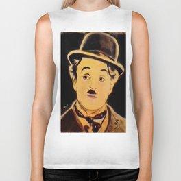 Charlie Chaplin Biker Tank