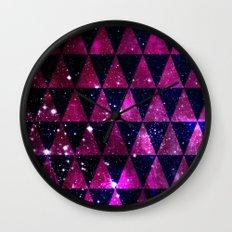 Through Space Wall Clock