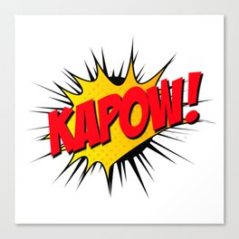 Kapow!! Canvas Print