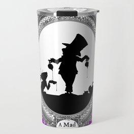 Alice's Adventures in Wonderland - Mad Tea Party Silhouette Travel Mug