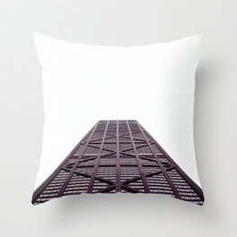 A Runway for the Eyes Throw Pillow