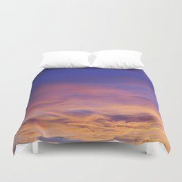 COME AWAY WITH ME - Autumn Sunset #1 #art #society6 Duvet Cover