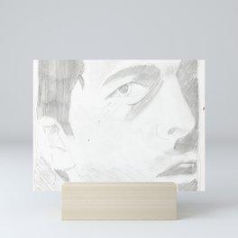 Castiel Mini Art Print