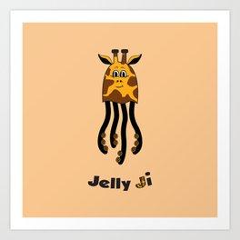 JellyJi Art Print
