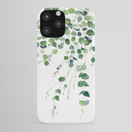 Eucalyptus Watercolor iPhone Case