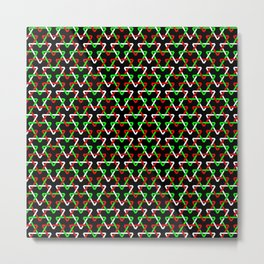 Mexican Triangles Metal Print