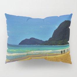 Waimanalo Beach - Hawaii Pillow Sham