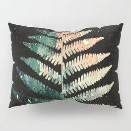 Watercolour Fern Leaf Pillow Sham