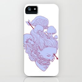 heart of fungus iPhone Case