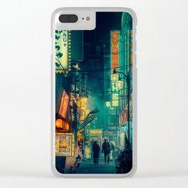 Tokyo Nights / Memories of Green / Blade Runner Vibes / Cyberpunk / Liam Wong Clear iPhone Case