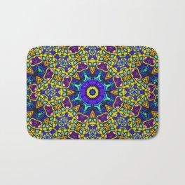 Persian kaleidoscopic Mosaic G522 Bath Mat