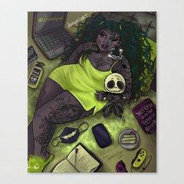 Quarantine Bae 5  Canvas Print