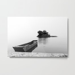 Erhai (Lake Er), Yunnan, China Metal Print