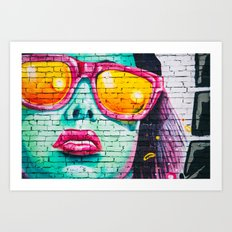 Street Superstar Art Print