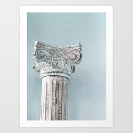 Corinthian capital Art Print