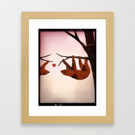 You're Worth Hanging Around For Framed Art Print
