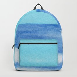 Diagonal Blue Wave Backpack