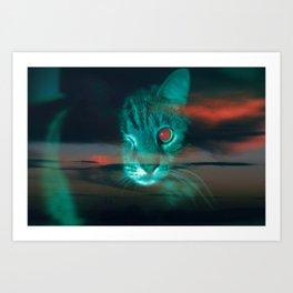 Red Eye Art Print