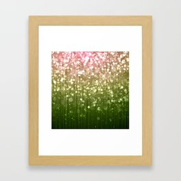 Summer Sparkles Framed Art Print