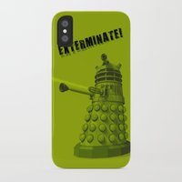 dalek iPhone & iPod Cases featuring Dalek by Digital Arts & Crafts by eXistenZ