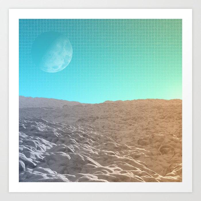 Daylight In The Desert Art Print
