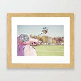 Cuter Scooter Framed Art Print