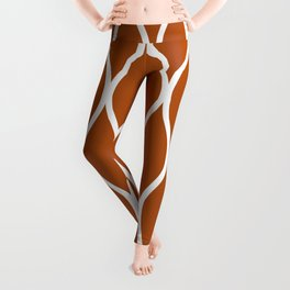 Web (Rust) Leggings