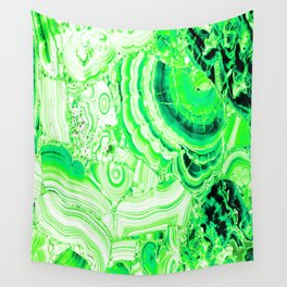 Malachite Green Wall Tapestry