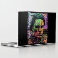 christopher walken Laptop & iPad Skins featuring Walken Around Town by brett66