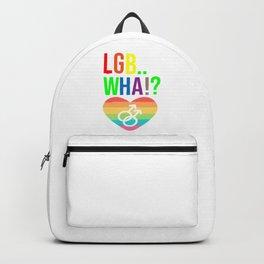LGBT Transgender humor Backpack