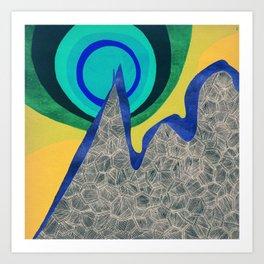 - mountain atomic bomb - Art Print
