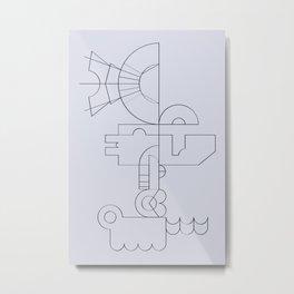 blpm167 Metal Print