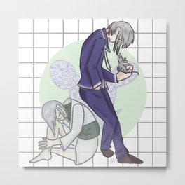 Yuki Sohma Metal Print