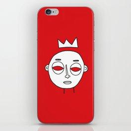 Faces 04 iPhone Skin