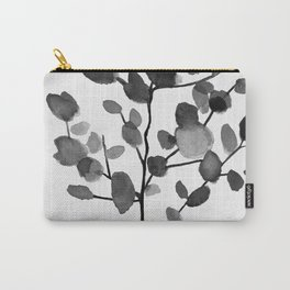Watercolor Leaves II Carry-All Pouch
