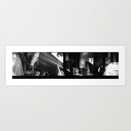 PANS : Tara & Rick : 4 Art Print