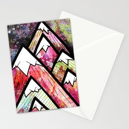 As the high peaks grow Stationery Cards